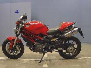 Закажите Ducati Monster 796 из Японии под любую пошлину Vtransim.ru