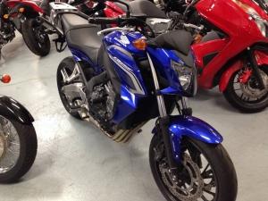 Закажите Honda CB650F из Японии под любую пошлину Vtransim.ru