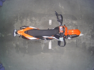 Закажите KTM 690 ENDURO R из Японии под любую пошлину Vtransim.ru