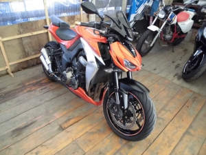 Закажите Kawasaki Z1000 из Японии под любую пошлину Vtransim.ru