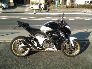 Закажите Kawasaki Z800 из Японии под любую пошлину Vtransim.ru